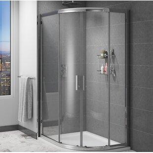 Marie Quadrant Framed Shower Enclosure by Belfry Bathroom