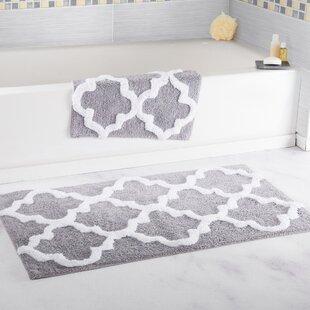bathroom rugs set. Save to Idea Board Gray Trellis Bath Rug  Wayfair