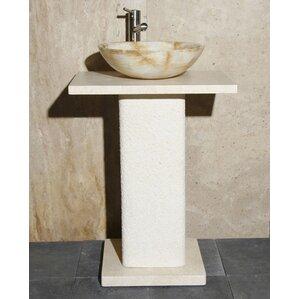 Wood Pedestal Sink Base | Wayfair
