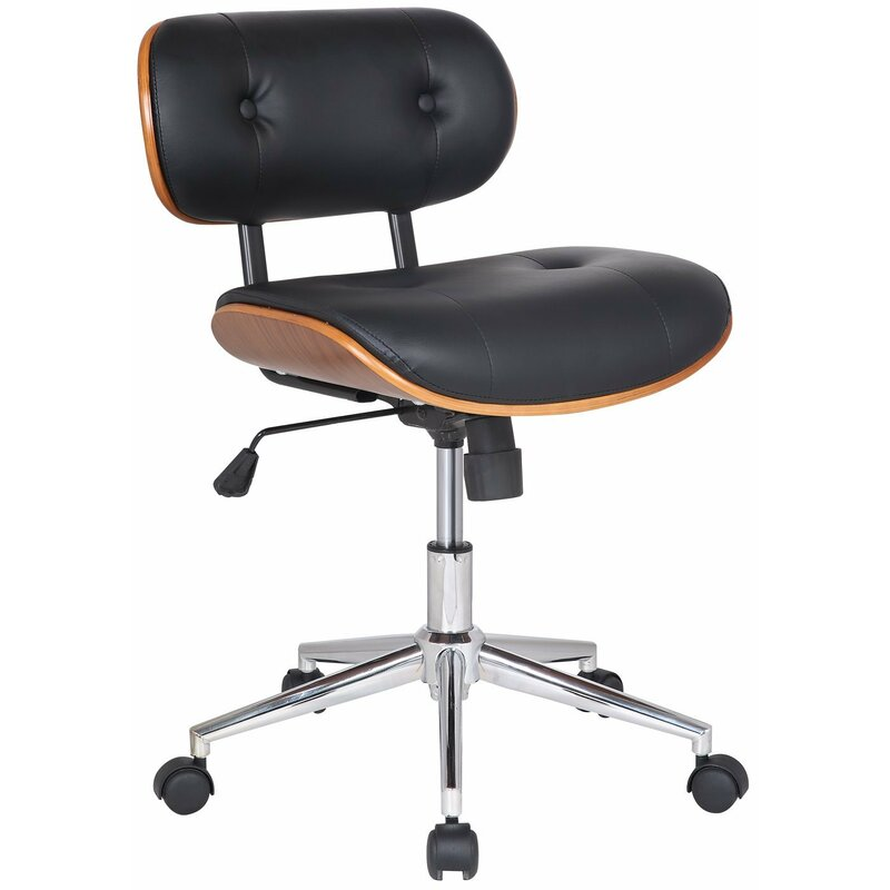 Bentwood Low Back Desk Chair