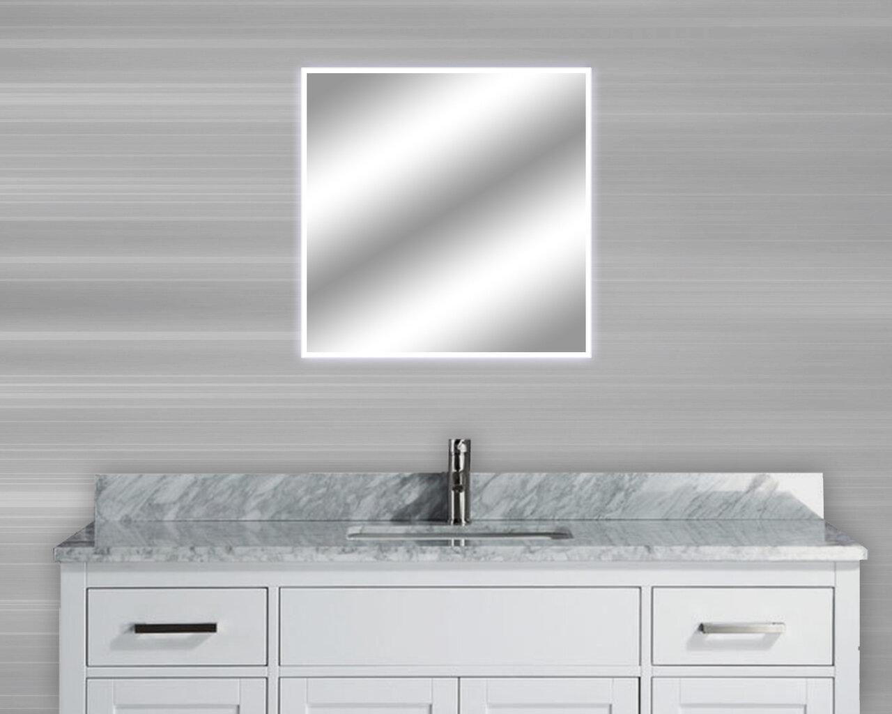 MTDVanities Encore Activated Illuminated LED Bathroom/Vanity Mirror ...