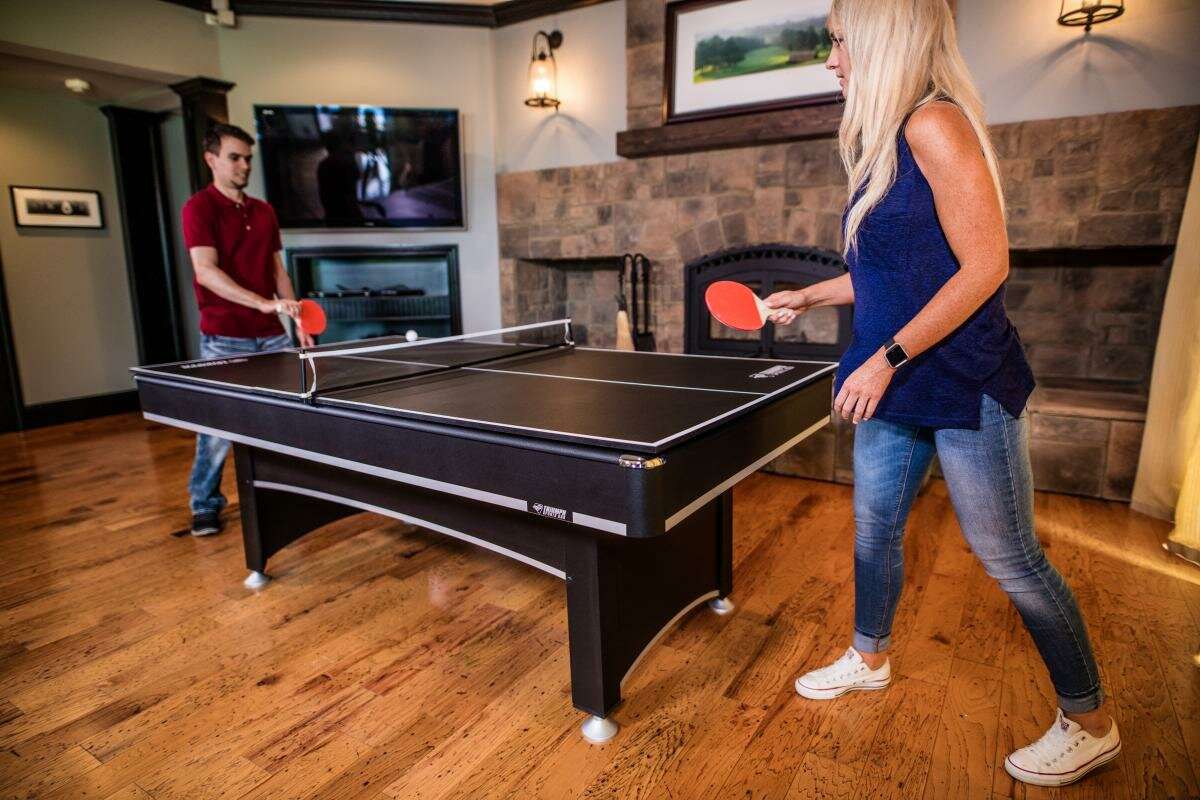 Phoenix Billiard Table With Table Tennis Top