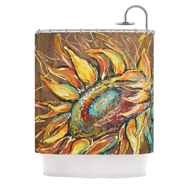 East Urban Home Sunflower Shower Curtain Reviews