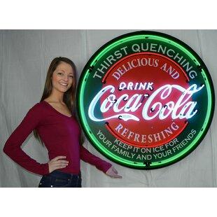 Coca Cola Evergreen Neon Sign