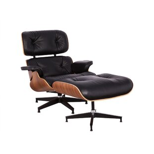 Schwab Swivel Lounge Chair And Ottoman Set Of 2