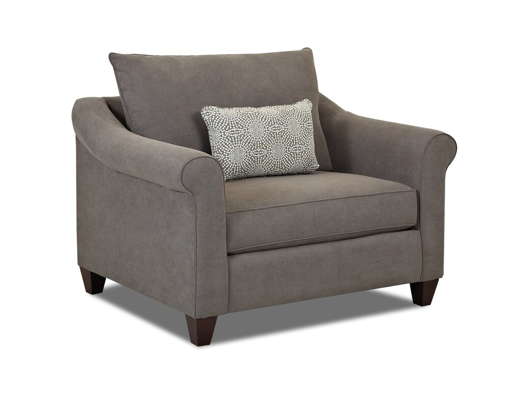 Klaussner Furniture Allen Armchair & Reviews