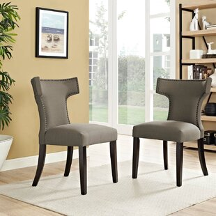 Curve Upholstered Dining Chair (Set of 2)