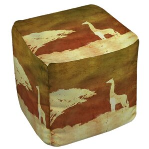 Safari Sunrise 4 Ottoman by Manual Woodworkers & Weavers