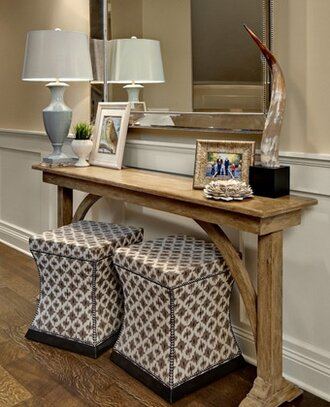 Beautiful Front Hall Table Decor