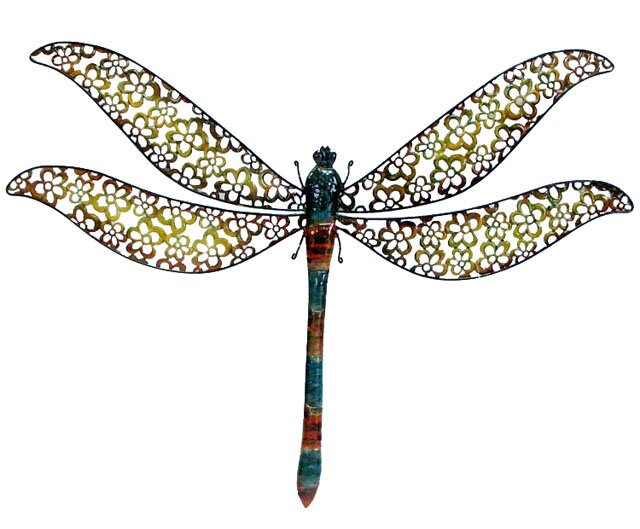 Metal Dragonfly Wall Décor