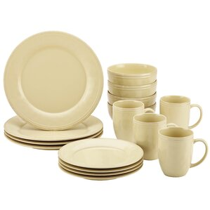 cucina 16 piece dinnerware set service for 4