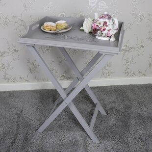 Christena Wooden Butleru0027s Tray Table
