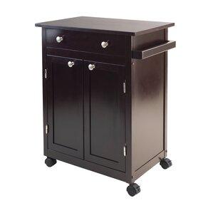 Levin Kitchen Cart by Three Posts