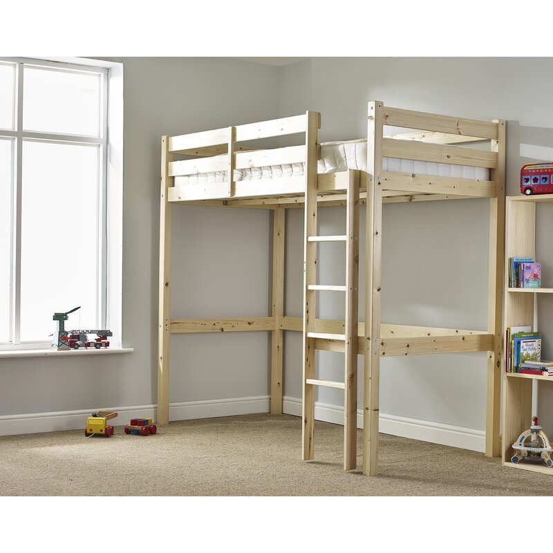 Just Kids Chester High Sleeper Bed & Reviews   Wayfair.co.uk