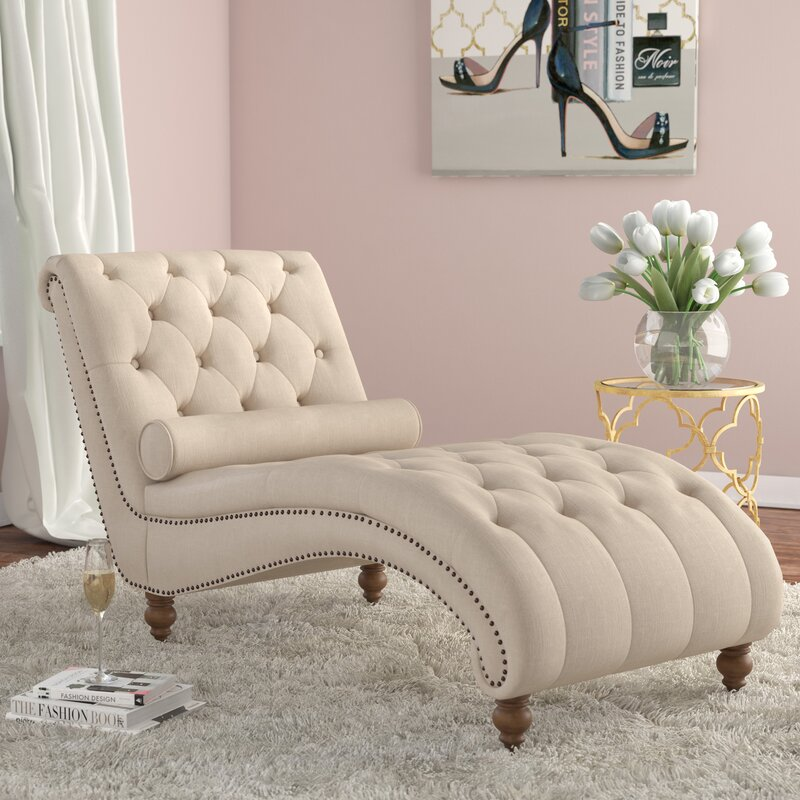House of hampton yarmouth chaise lounge reviews wayfair - Design plans for wood chaise lounge chair ...