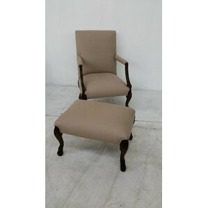 Cabriat Lounge Chair and Ottoman by Ital Art..