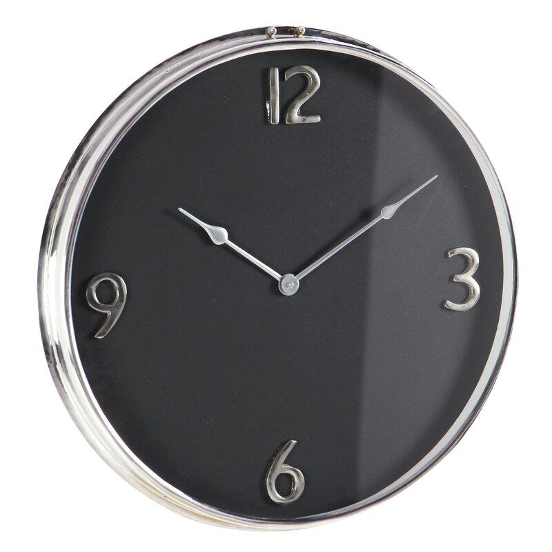 Stainless Steel 18 Wall Clock Allmodern