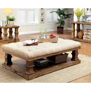Charlotte Coffee Table With Cushion Top
