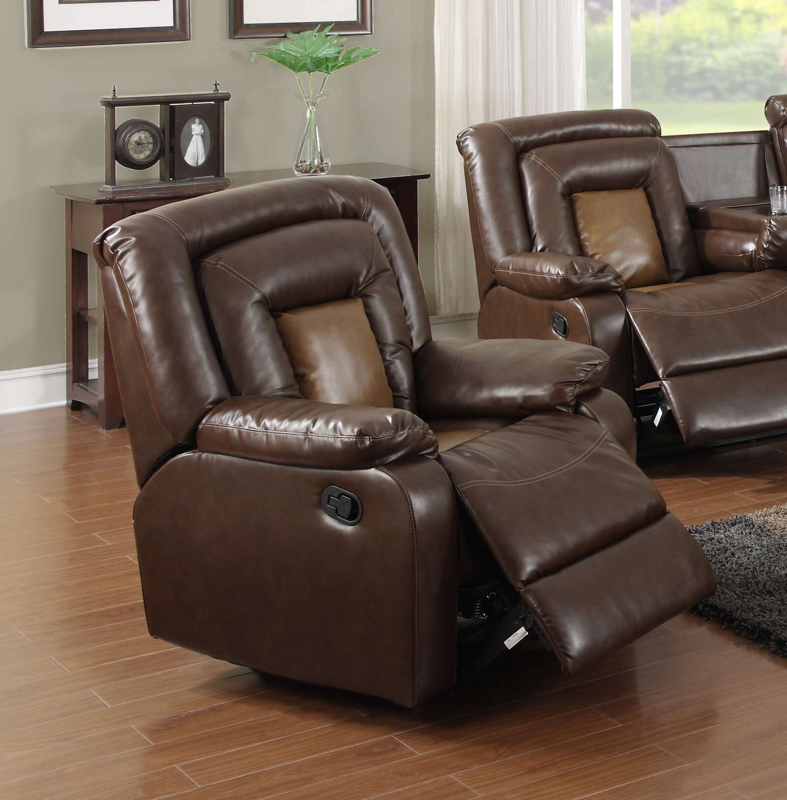 Beverly Fine Furniture Topeka Recliner U0026 Reviews   Wayfair
