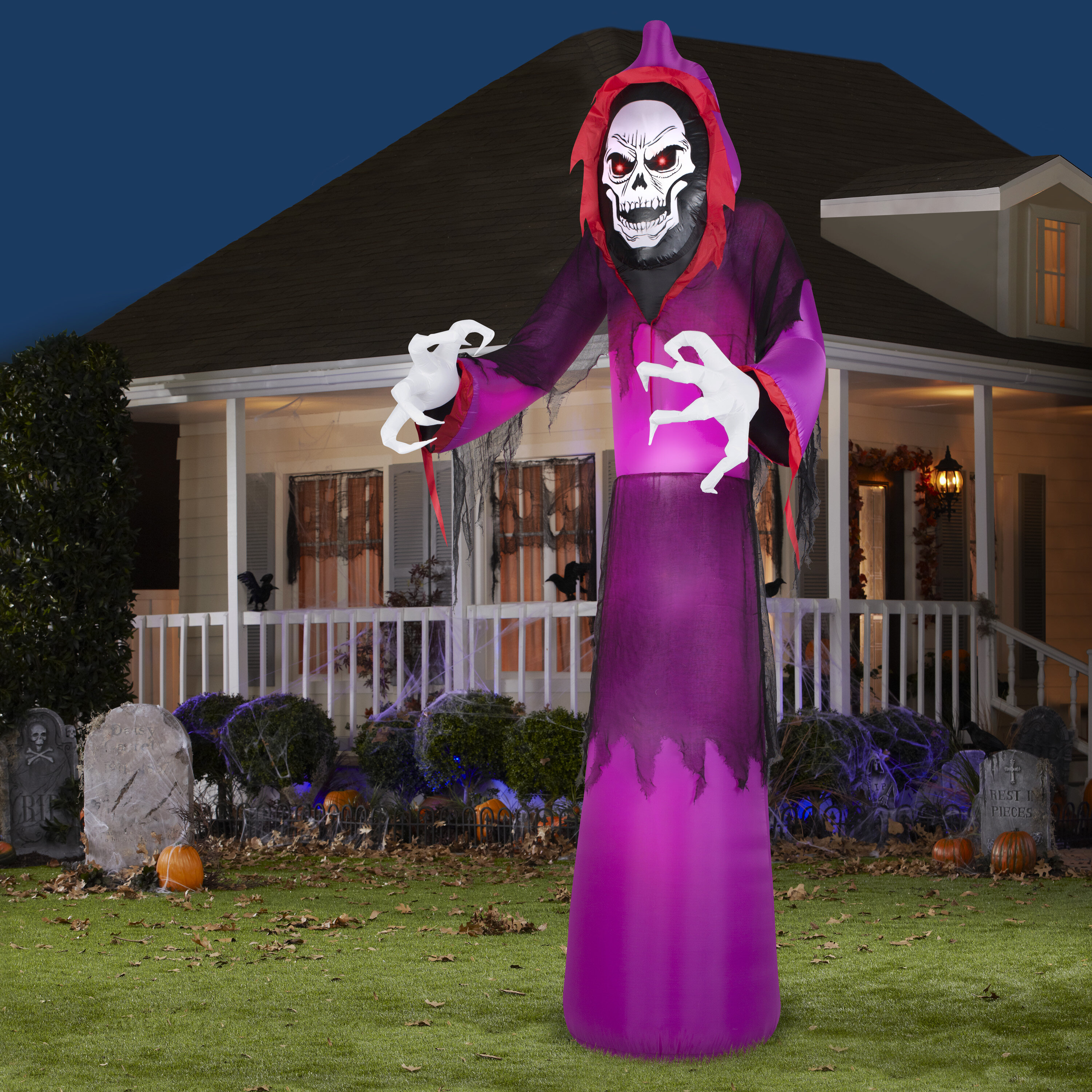 Airblown Giant Grim Reaper Halloween Inflatable