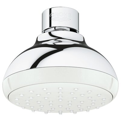 Delicieux Tempesta Rain Shower Head With SpeedClean Nozzles