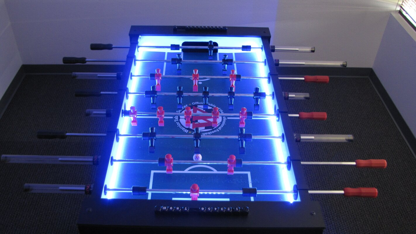 Warrior Table Soccer Professional Foosball TableWarrior Table - Custom foosball table