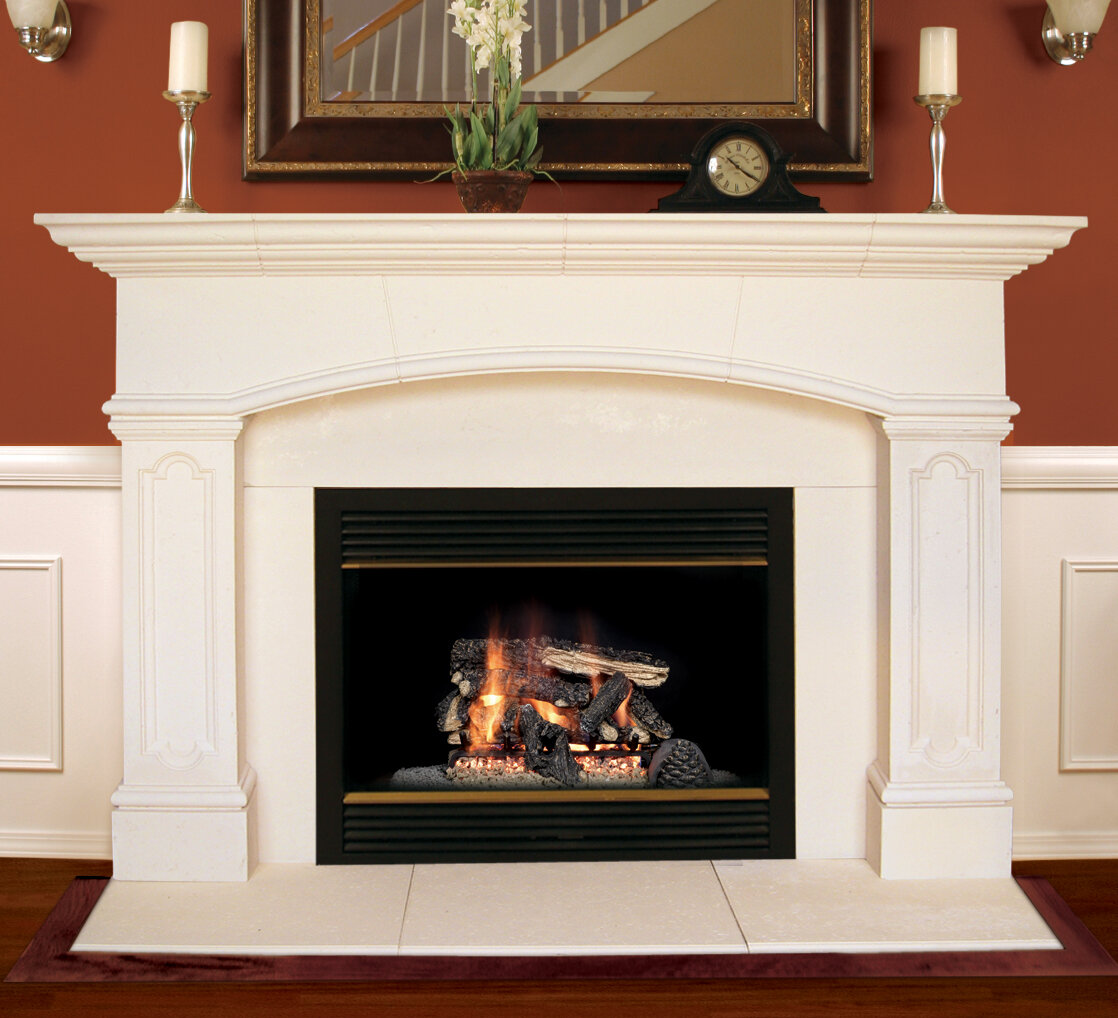 Americast Architectural Stone Abington Fireplace Mantel