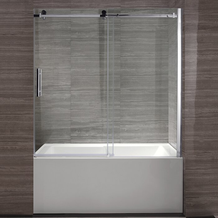 home you aqua love tub ca with door wayfair hinged bathtub shower doors improvement ll x frameless fold