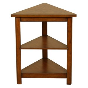 Perfect Heartwood Triangle End Table