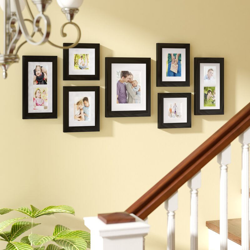 Cabarite 7 Piece Create A Gallery Picture Frame Set