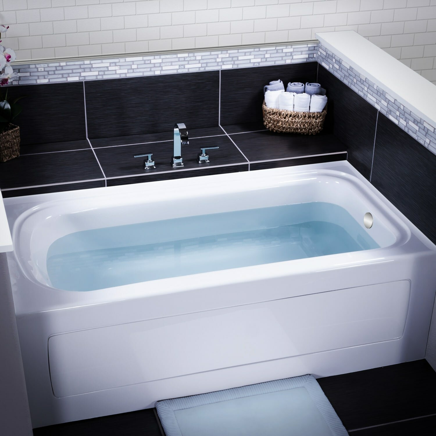 Exelent Alcove Bath Tub Crest - Bathtub Design Ideas - klotsnet.com