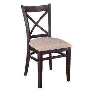 Crossback Solid Wood Dining Chair (Set of..