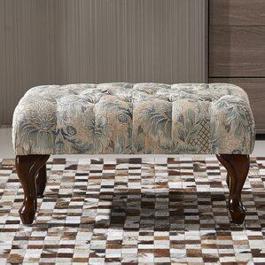 Classic Button Tufted Ottoman by NOYA USA
