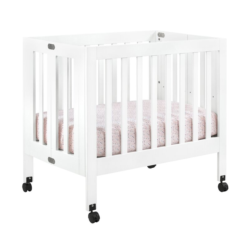 cribs space on mini gold tufted dream unique closet crib me portable foldable folding mattress bloom