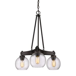 Fulton 3-Light Candle-Style Chandelier