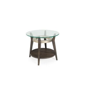 Wroblewski Round End Table by Brayden Studio