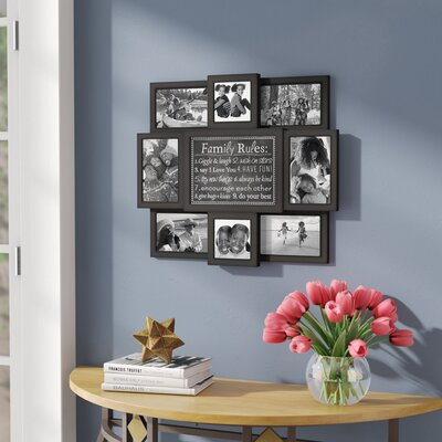 Zipcode Design Collage 9 Opening Picture Frame & Reviews | Wayfair
