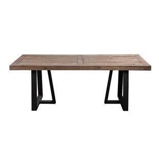 Anastagio Wood and Metal Dining Table