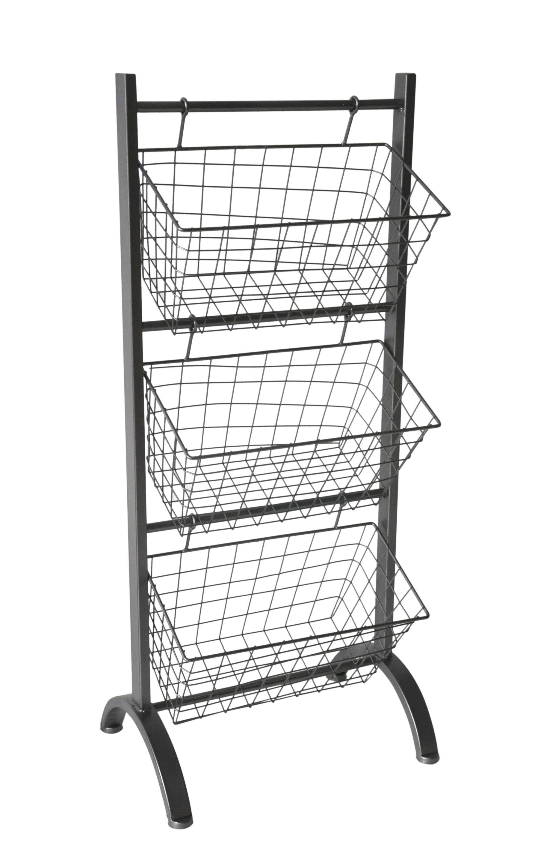 Exceptionnel 17 Stories 3 Tier Metal Storage Basket U0026 Reviews | Wayfair