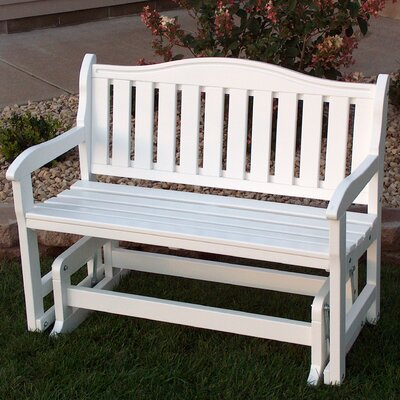 White Outdoor Benches You Ll Love Wayfair