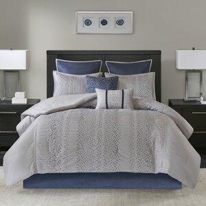 Nilsen Geometric 8 Piece Comforter Set