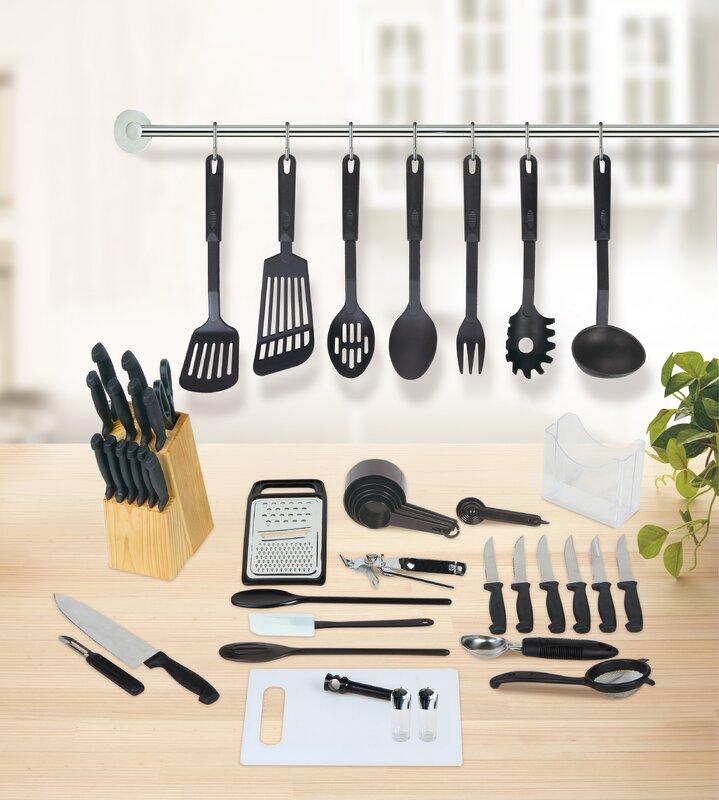 Kitchen Essentials linen depot direct studio 707 51 piece kitchen essentials set