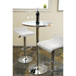 Adlai Adjustable Height Pub Table by Varick Gallery