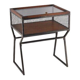 Roosa Curio Corner Cabinet