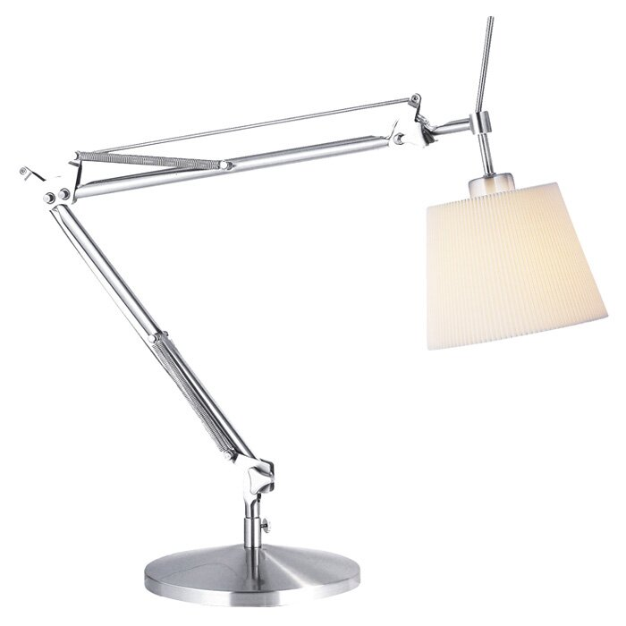 arm desk drafting architect work clamp itm vintage office light swing w lamp metal