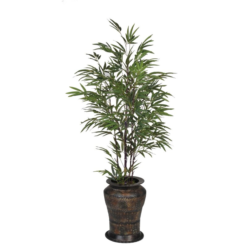 House Of Silk Flowers Artificial Black Bamboo Tree In Decorative