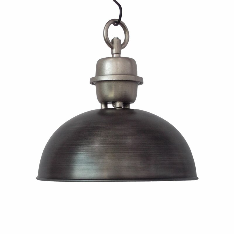 Williston Forge Chenai 1 Light Inverted Pendant Wayfair