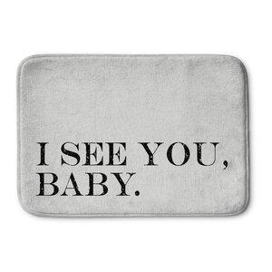 I See You Baby Bath Mat