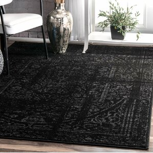 Black Area Rugs trent austin design rugs you'll love | wayfair
