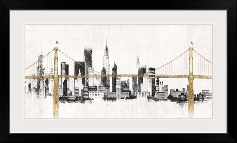 Great big canvas bridge and skyline avery tillmon graphic art bridge and skyline avery tillmon graphic art print altavistaventures Choice Image